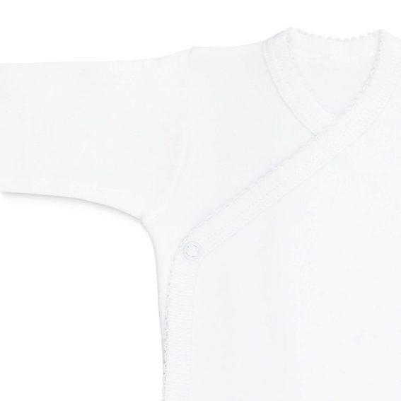 body plain algodón manga larga