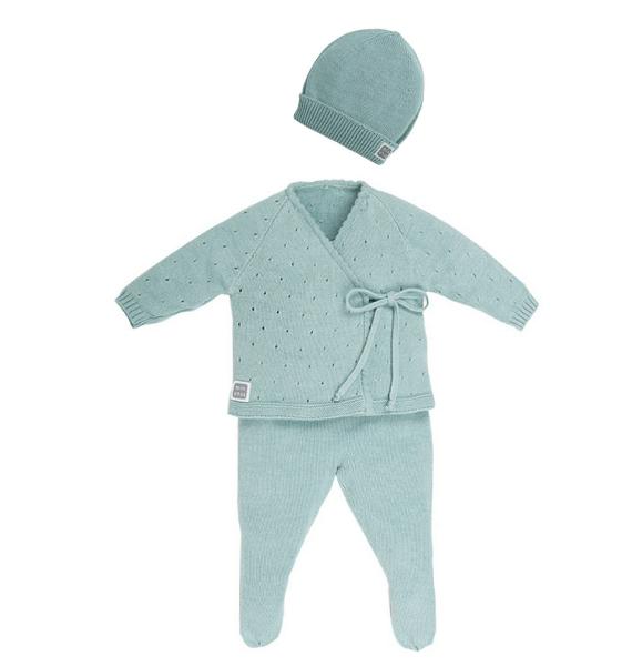 Completo neonato Aire con cappelino